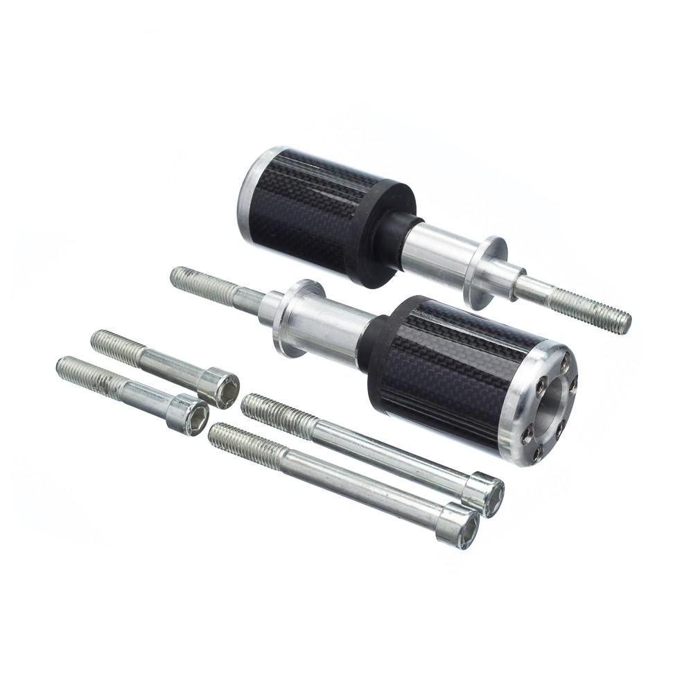 Slider Universal Bering Batente (Par) Carbon Aluminio Prata