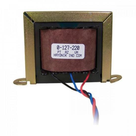 Transformador 6/500S 6VAC 127/220 VAC 500mA HAYONIK
