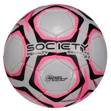 1742415e32ac1 Bola Penalty Brasil 70 R2 IX Society Branca e Rosa