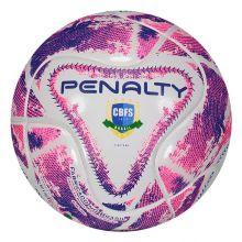 Bola Penalty Max 100 lX Futsal Branca e Roxa cff339330bae2