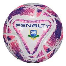 Bola Penalty Max 50 IX Futsal Branca e Rosa 59942c387a010
