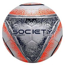 c477bbcd8f Bola Penalty Storm VIII Society Branca e Azul