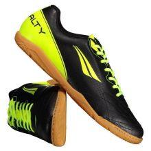 94d1ee702ec85 Chuteira Penalty Matís VIII Futsal Preta e Amarela