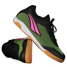 95b2f9a7cc9c9 Chuteira Penalty Max 500 IX Locker Futsal Preta e Rosa