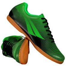 92982a569 Chuteira Penalty STM RX Fúria IX Futsal Verde e Preta