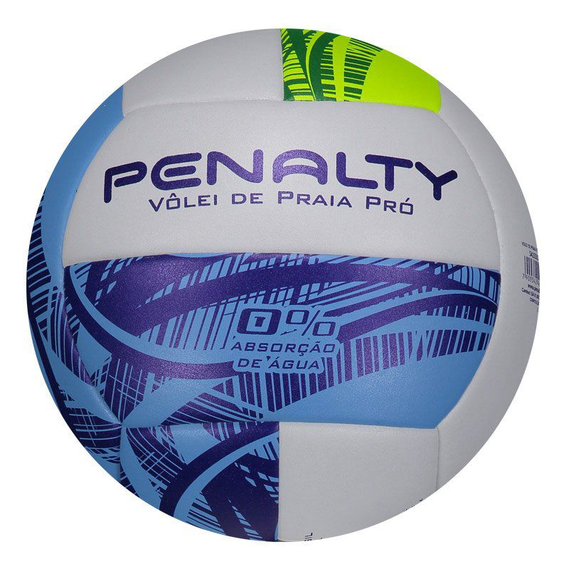 d48774b7393e0 Bola De Vôlei De Praia Penalty Pró IX Branca e Verde - Penalty