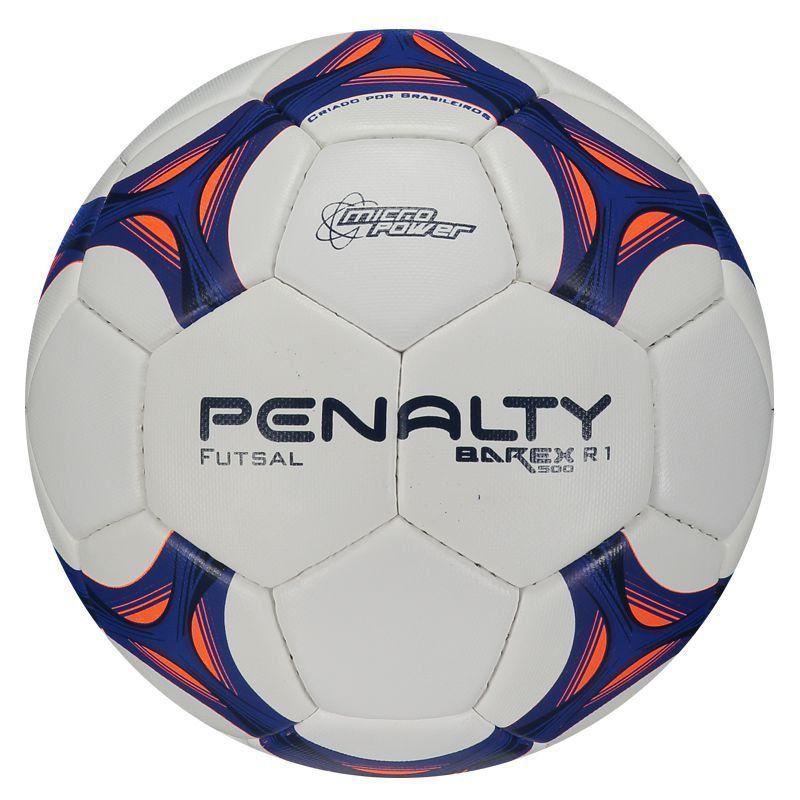 85e095ba8fe45 Bola Penalty Barex 500 R1 VIII Futsal - Penalty