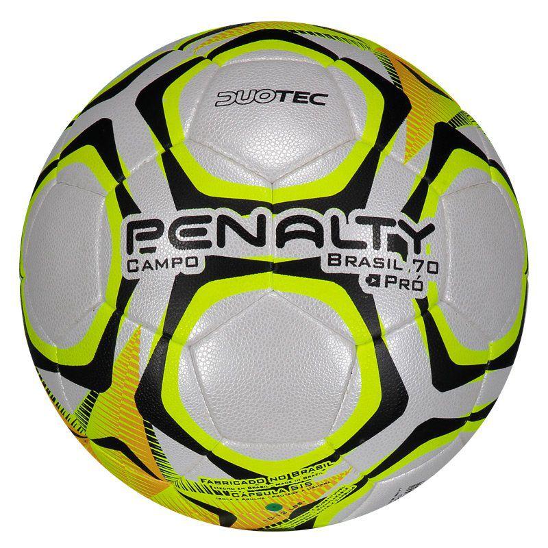 Bola Penalty Brasil 70 Pró lX Produzida Para Futebol de Campo - Penalty 742e4f6f7775e