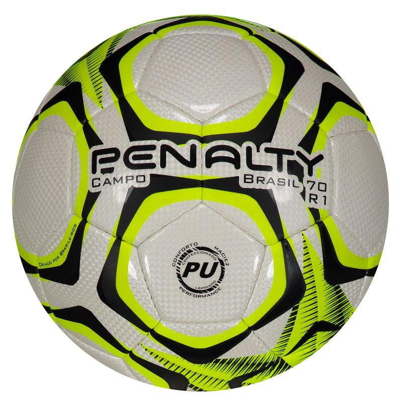 Bola Penalty Brasil 70 R1 IX Campo Amarela - Penalty 0d41765969648