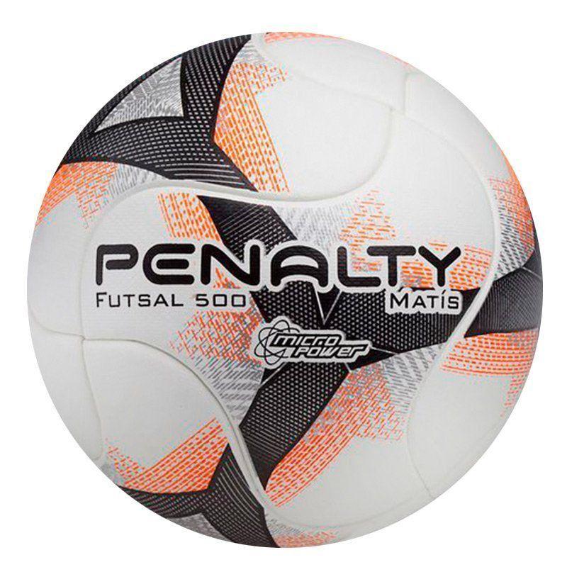 41edda48bf119 Bola de Futsal Penalty Matís 500 Termotec VIII Branca Indicada para Futebol  de Salão - Penalty