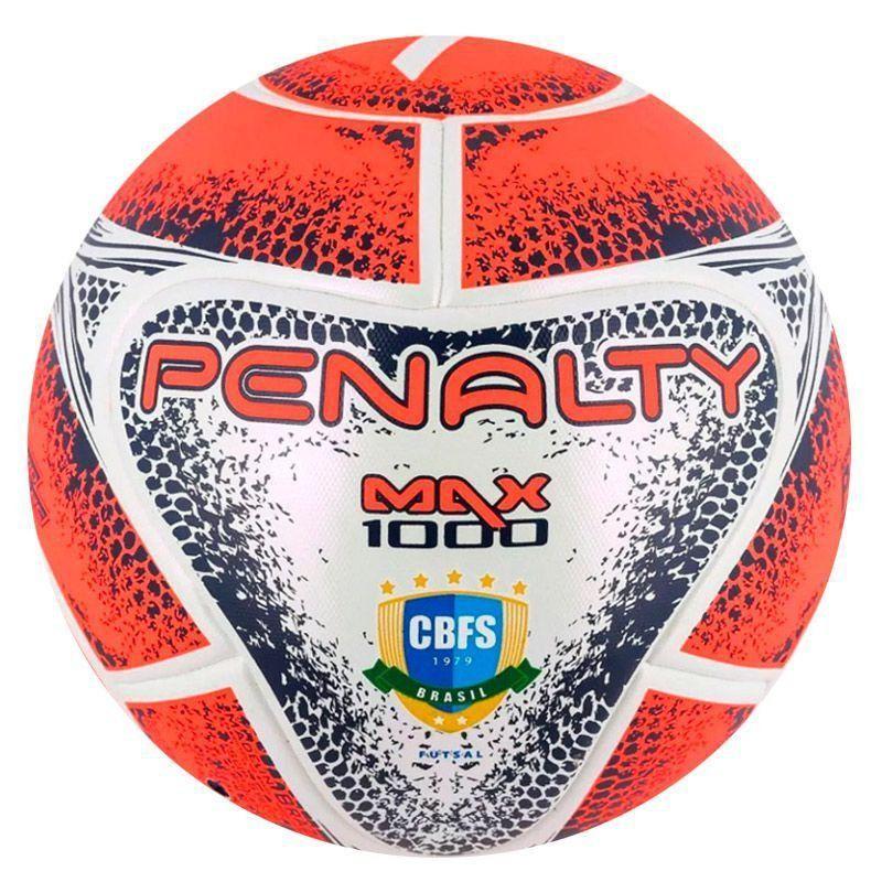 466e36a5e4268 Bola Penalty Max 1000 VIII Futsal Branca - Penalty