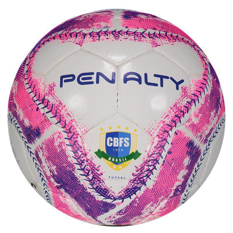 Bola de Futsal Penalty Max 500 Rosa criada para Futebol de quadra e ... 8a6bf00cd6a15