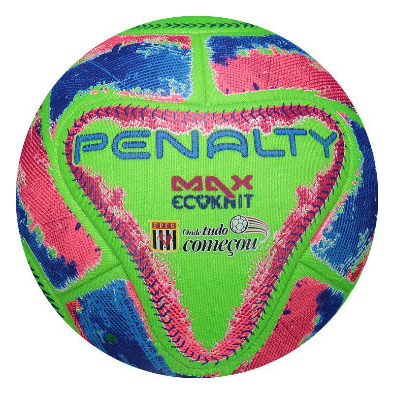 646542a2e6 Bola Oficial Futsal Penalty Max Ecoknit FPFS IX Barata com Selo FPFS -  Penalty