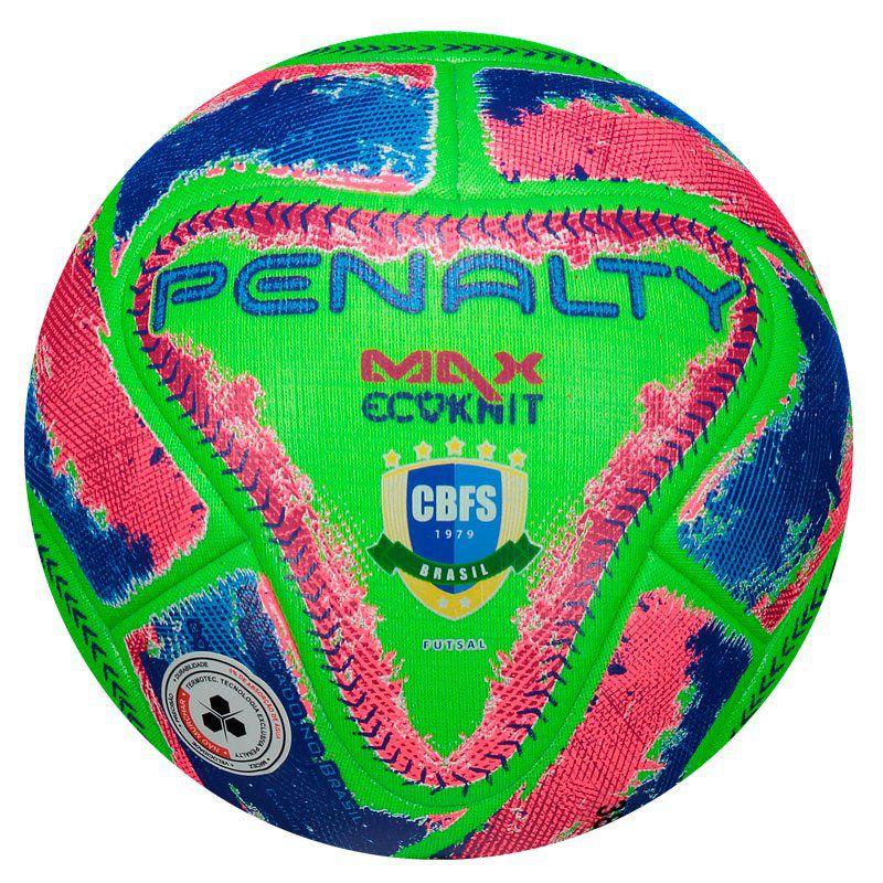 fe9074dd3f272 Bola de Futsal Penalty Max Ecoknit FPFS IX Original Barata com Selo CBFS -  Penalty