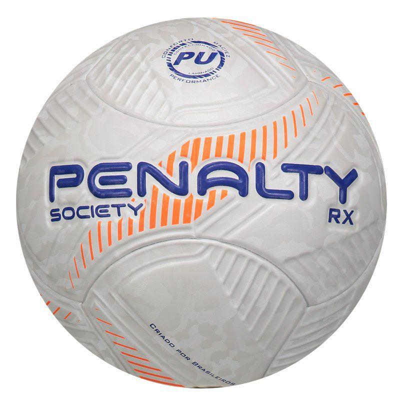 Bola Penalty RX Fusion Vlll Society Laranja - Penalty db265713cf78c