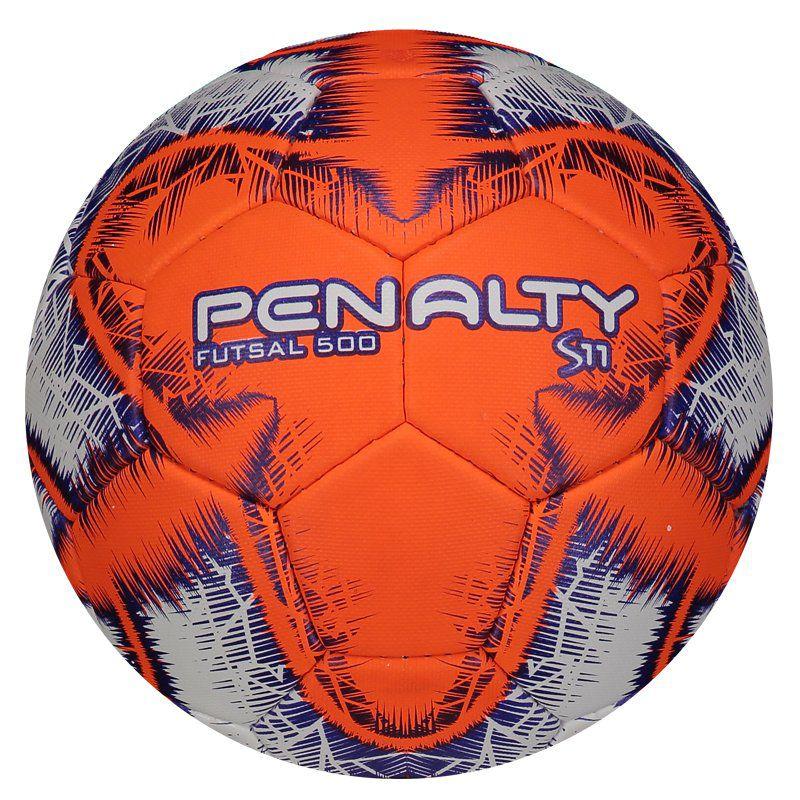 Bola Penalty S11 500 R5 IX Futsal Laranja - Penalty 376a0f8d1fd35