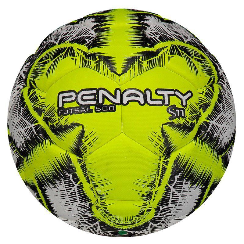 Bola Penalty S11 500 R5 IX Futsal Amarela - Penalty 667905ac32e7f