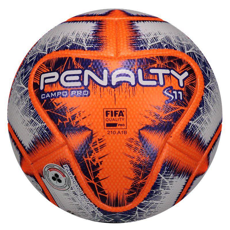 3f2c95ee97736 Bola Penalty S11 Pró IX Campo Laranja Fabricada para as partidas de futebol  - Penalty