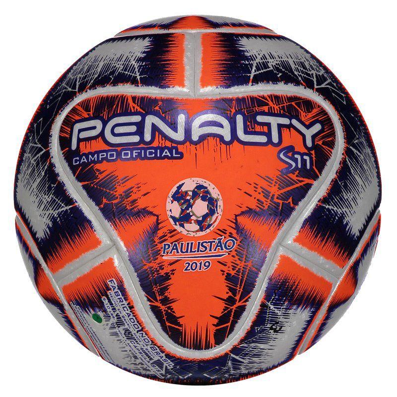 7e7d2449fa Bola de Campo Penalty S11 R1 Oficial Produzida para Gramado Natural -  Penalty