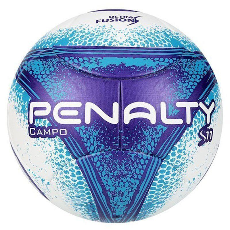 Bola Penalty S11 R3 Fusion VIII Campo Azul - Penalty 083708045f20b