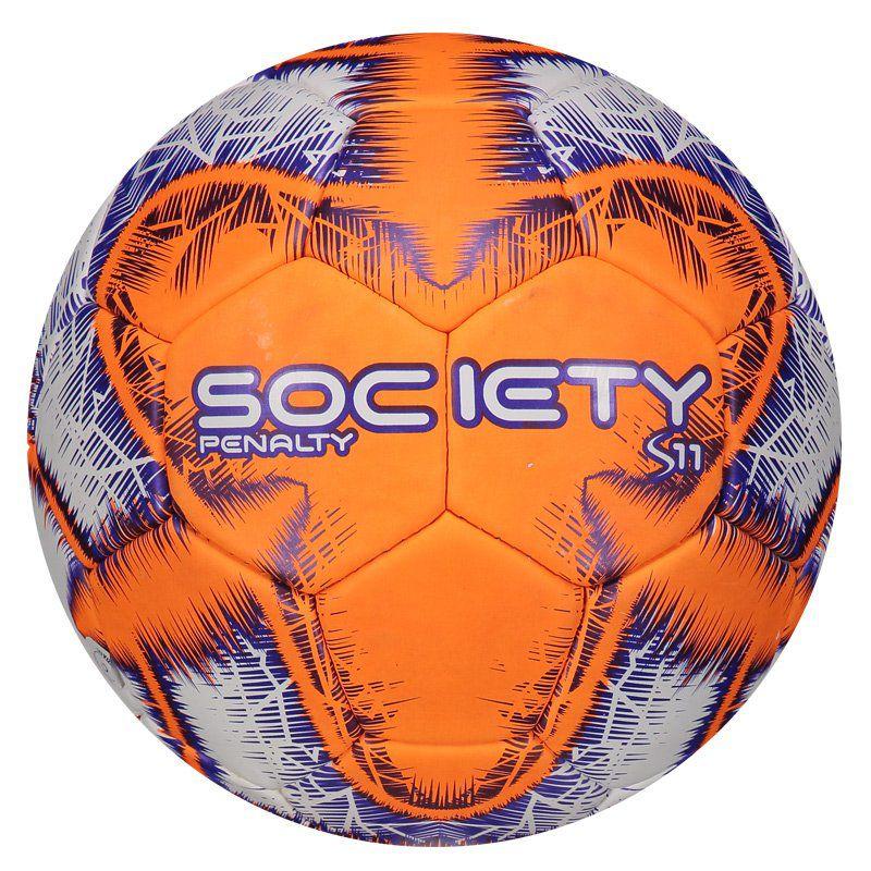 16ed760019 Bola Penalty S11 R4 IX Society Laranja - Penalty