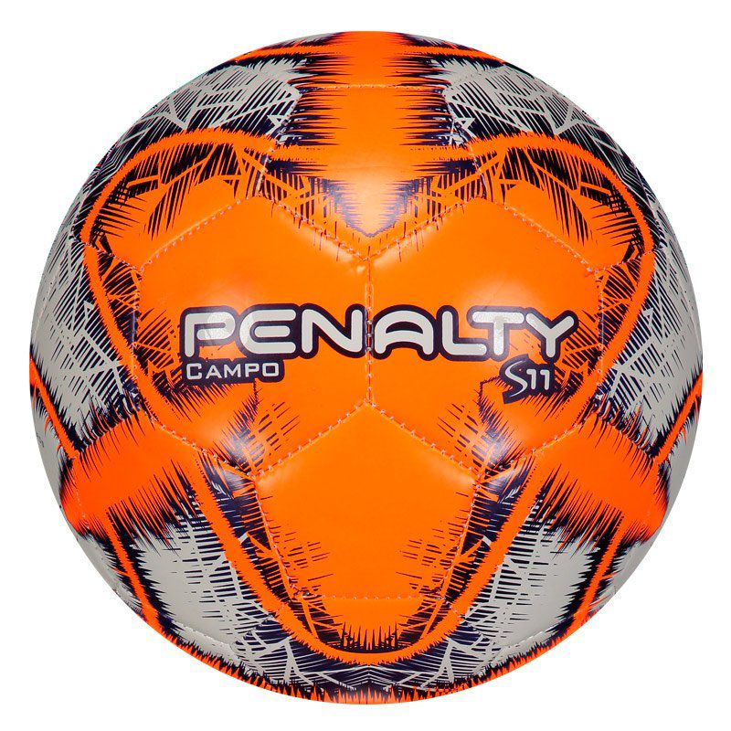 Bola Penalty S11 R6 IX Campo Laranja e Branca - Penalty b67b505942239