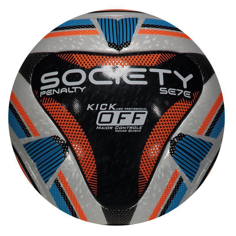 a085d1ff79 Bola de Society Penalty Se7e R1 KO IX Original e Produzida para partidas de  Futebol - Penalty