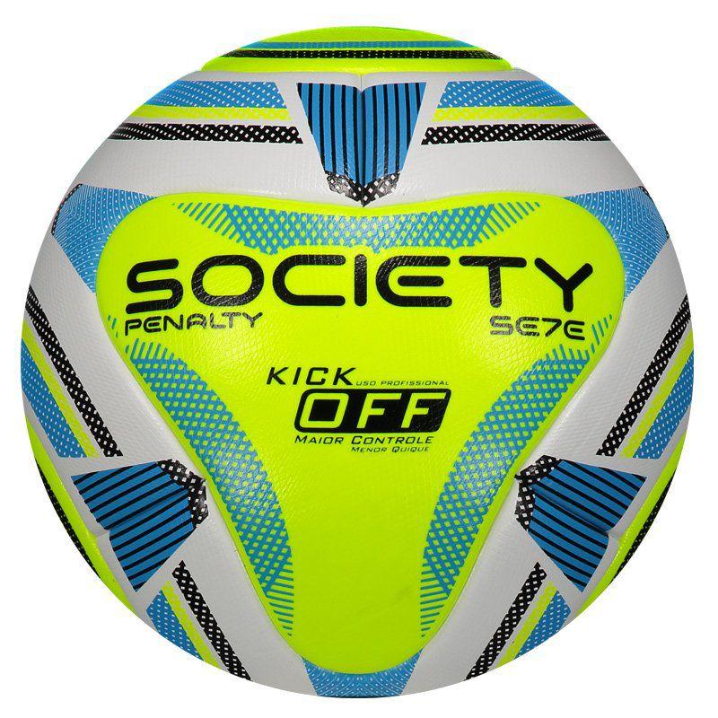4cf19eaf5b Bola de Society Penalty Se7e R2 KO IX Criada para Gramado Sintético -  Penalty