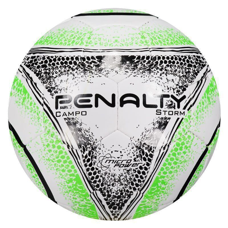 bd8aa82769 Bola Penalty Storm VIII Campo Branca e Verde - Penalty