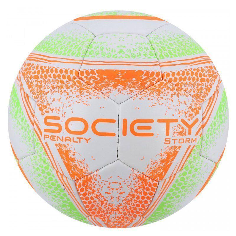Bola Penalty Storm VIII Society Branca e Laranja - Penalty 81ae70feeeb00