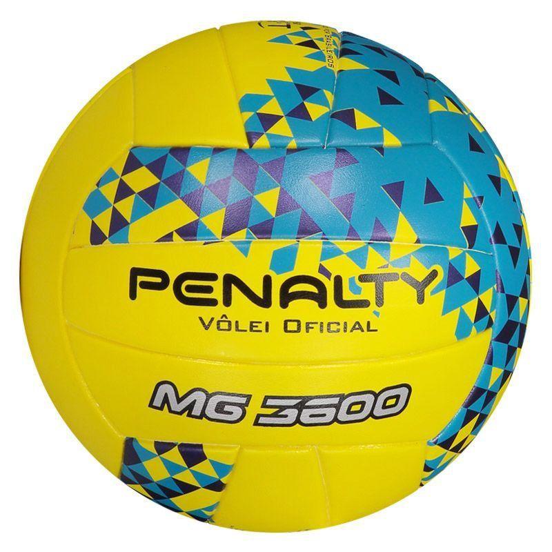 Bola Penalty Vôlei 3600 Fusion VIII Amarela - Penalty dffb3afaa3328