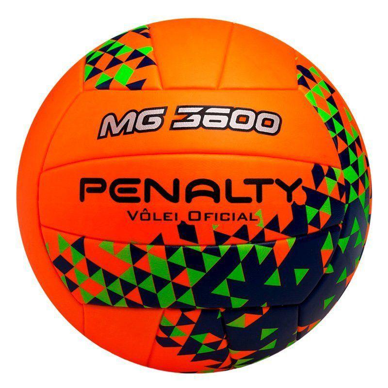 Bola Penalty Vôlei 3600 Fusion VIII Laranja - Penalty 0efbb34df5aac