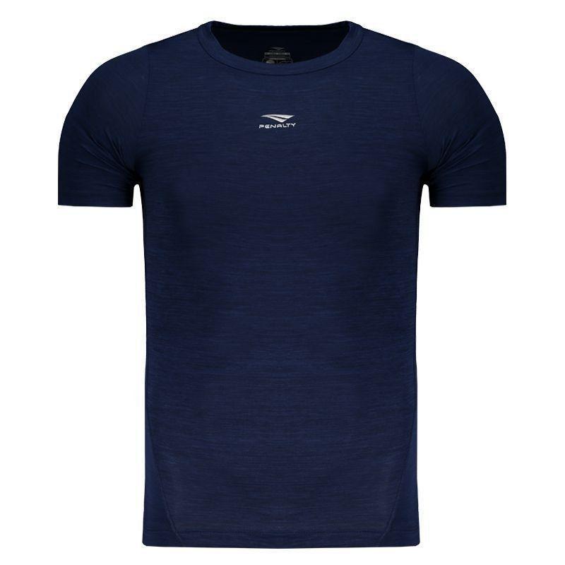 Camisa de Compressão Penalty Max Flex UV 50 Marinho - Penalty 3b3a9b93ff743