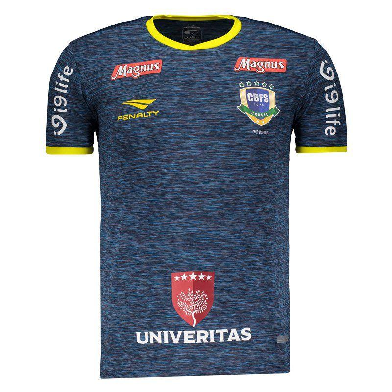 39bf687cfab1 Camisa Penalty Brasil CBFS Futsal III 2018 - Penalty