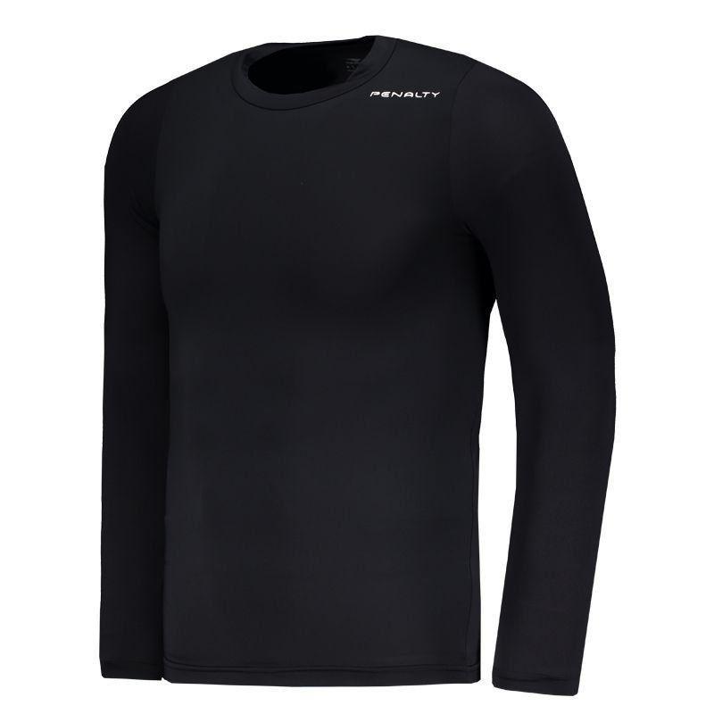 Camisa Térmica Penalty Matís VI Manga Longa Preta - Penalty 86698a773dd89