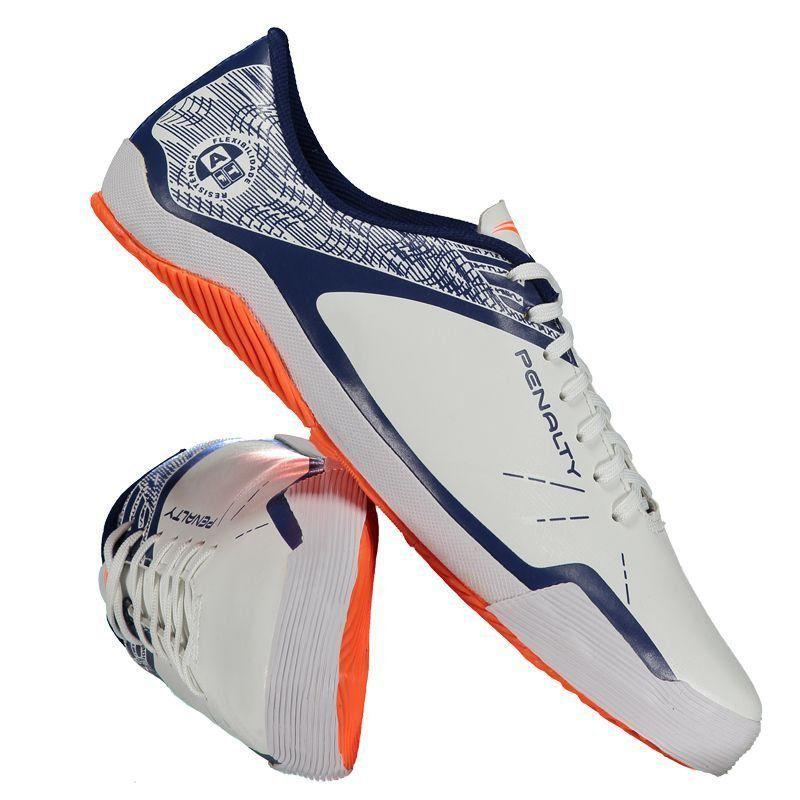 Chuteira Penalty ATF Storm Zon3 VII Futsal Branca - Penalty e9d6338f7245c