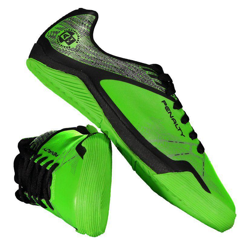 0c18cfa6f7 Chuteira Penalty ATF Storm Zon3 VII Futsal Juvenil Verde - Penalty