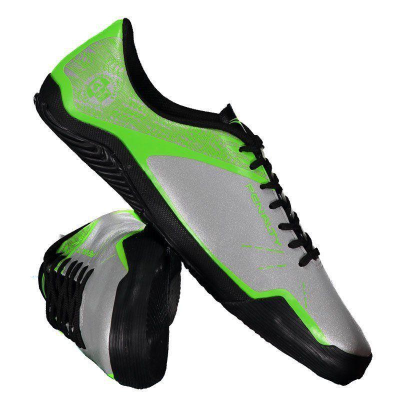 bee8e12584 Chuteira Penalty ATF Storm Zon3 VII Futsal Prata - Penalty