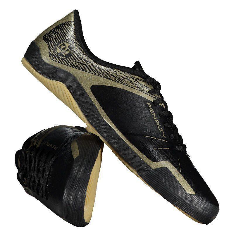 f228049cf3 Chuteira Penalty ATF Storm Zon3 VII Futsal Preta - Penalty