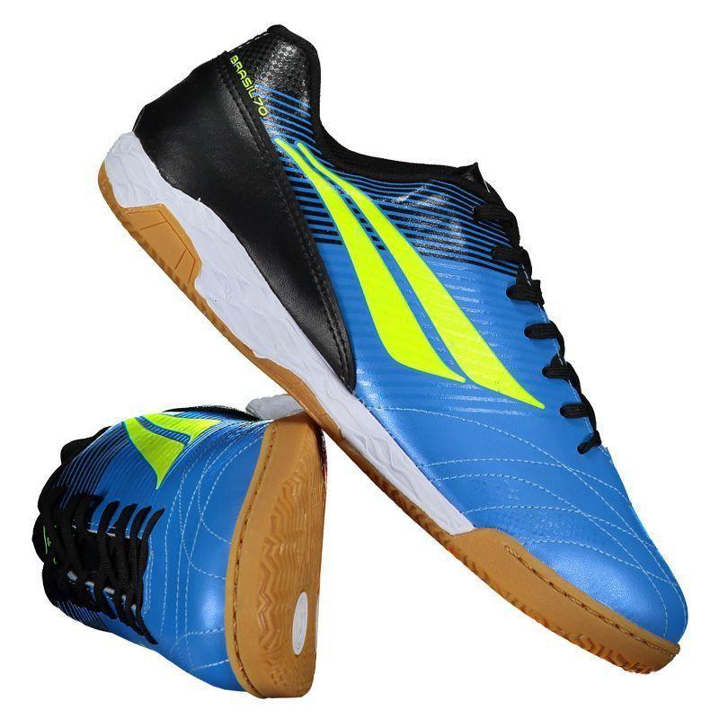 Chuteira Penalty Brasil 70 R2 VIII Futsal Azul - Penalty 864d50062ce65