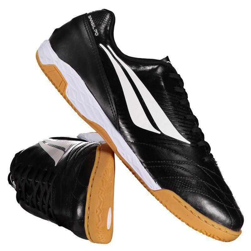 1c79781514 Chuteira Penalty Brasil 70 R2 VIII Futsal Preta - Penalty