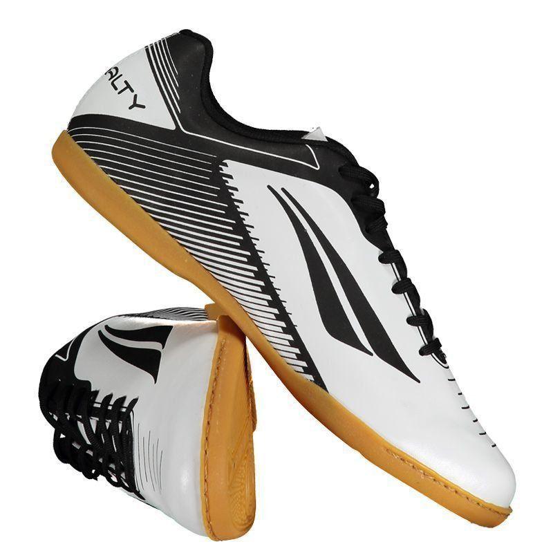 Chuteira Penalty Era VIII Futsal Branca - Penalty 0f848739ce975