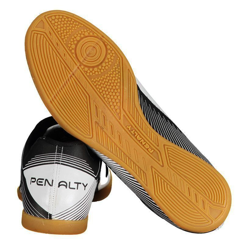 Chuteira Penalty Era VIII Futsal Branca - Penalty f86bd02bcd86f