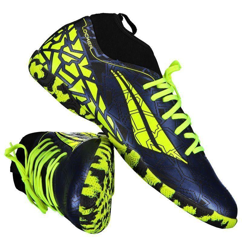 Chuteira Penalty RX Locker VII Futsal Azul - Penalty 7970c743765d9
