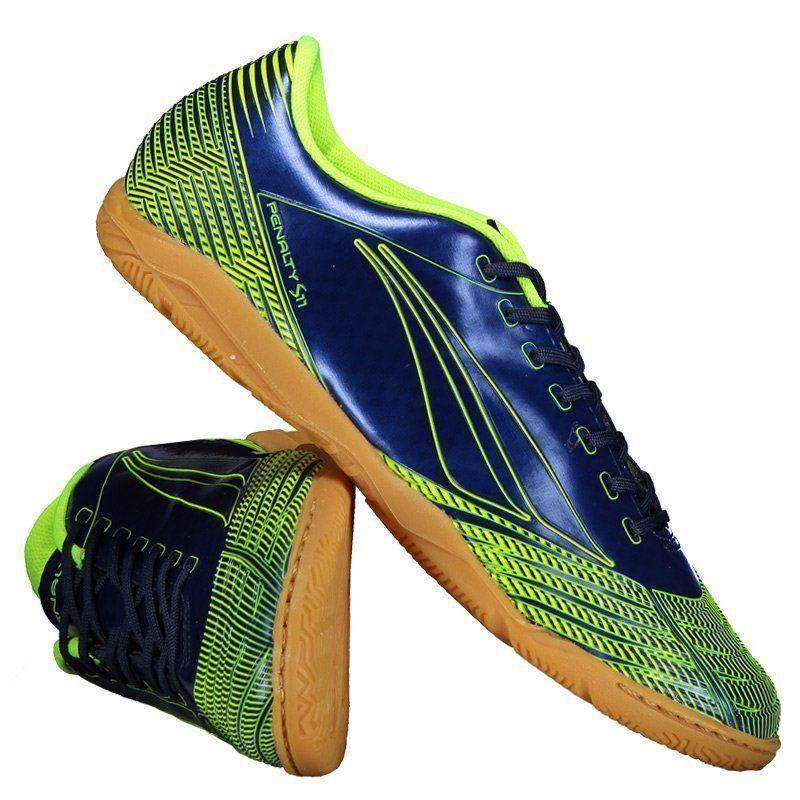 4779d6ebec Chuteira Penalty S11 R2 VIII Futsal Marinho - Penalty