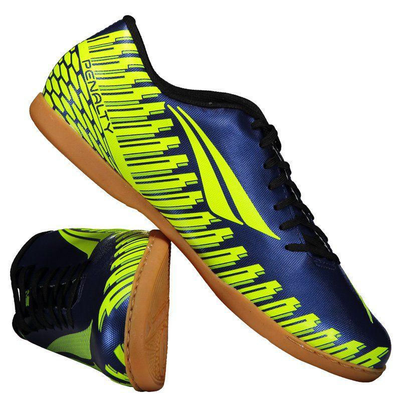 c8f575e7be Chuteira Penalty Storm Speed IX Futsal Azul - Penalty