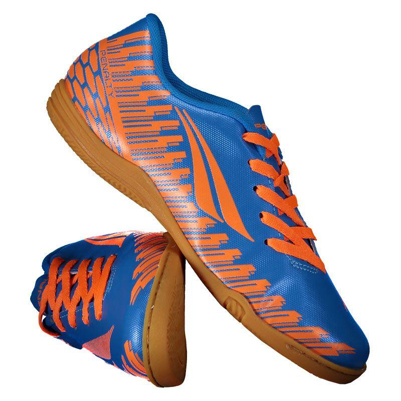 5738f8190a8dc Chuteira Penalty Storm Speed IX Futsal Juvenil Laranja - Penalty