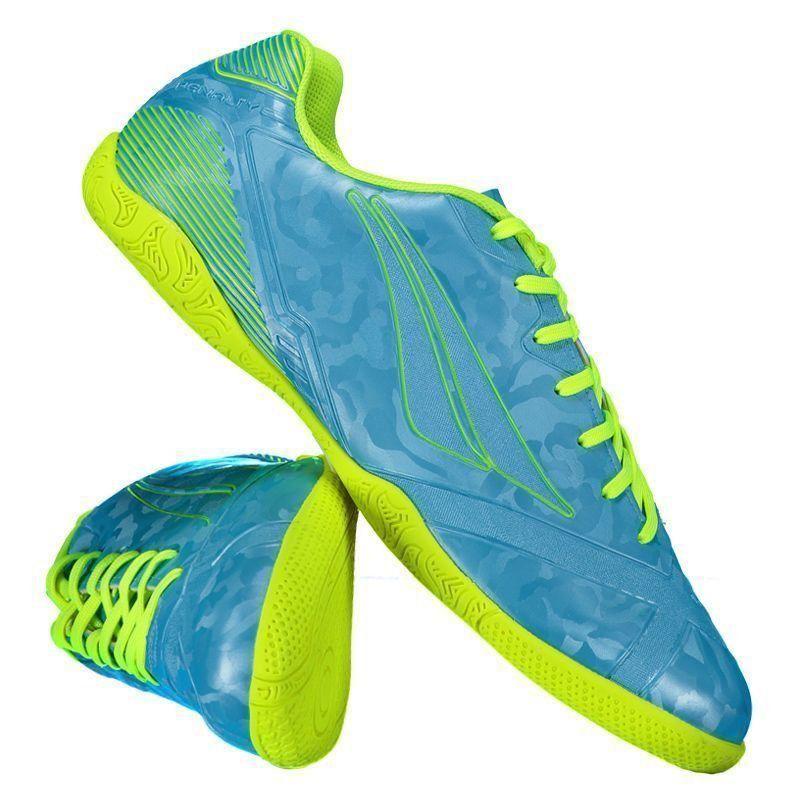 316f20f9aa Chuteira Penalty Victoria RX VIII Futsal Azul - Penalty
