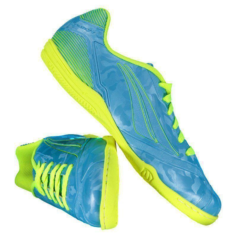 Chuteira Penalty Victoria Rx VIII Futsal Juvenil Azul - Penalty 548ec94e5b5ce