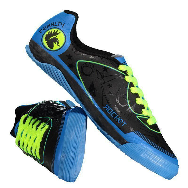 Kit Penalty Rocket VIII Futsal Juvenil Preto - Penalty 7ce6fa675f078